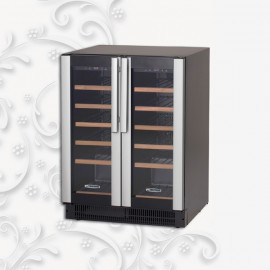 Armadio frigo per vini doppia temperatura