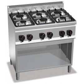 Cucina 6 Fuochi a Gas su Vano