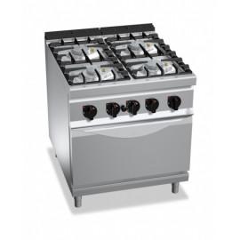 Cucina 4 Fuochi a Gas su...