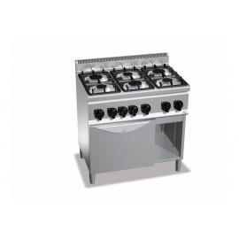 Cucina 6 Fuochi a Gas su...