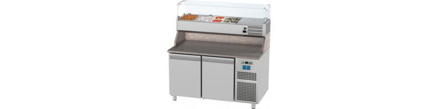 Tavoli frigo pizzeria - GN 1/1